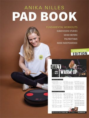 BUNDLE: PAD BOOK (SIGNED BY ANIKA) + WARM UP POSTER